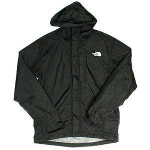 The North Face Mens Abul Rain Hyvent Black Jacket